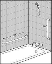 grab bar height for elderly. shower grab bars placement - google search bar height for elderly n