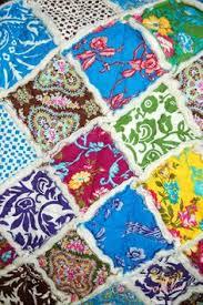 Flannel Charm Pack - 70 fabric squares, Rag Quilt Kits, Flannel ... & Rag Quilt with a Charm Pack TheDesignest.com #ragquilt #charmpack Adamdwight.com