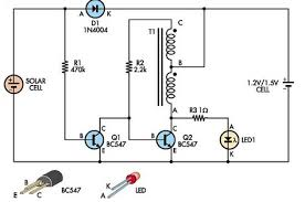 automatic white led garden light eeweb community automatic white led garden light circuit diagram