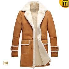 shearling trench coat men cw878604 jackets cwmalls com