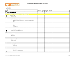 Quality Control Excel Template 040 Project Management An Checklist Quality Control Excel
