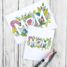 Free printable mothers day card, just print, and color. Free Printable Mother S Day Cards She Ll Love