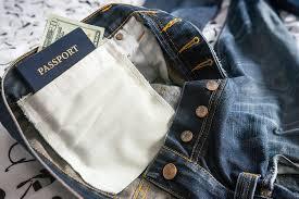 Make Pants Make A Secret Pocket In Your Pants Expert Vagabond