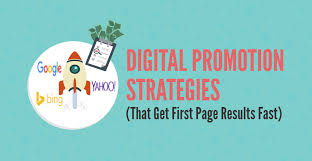 Promotional Strategies Digital Promotion Strategies That Get First Page Results Fast
