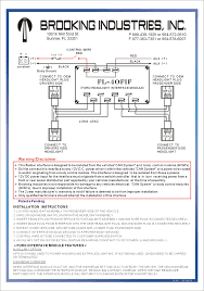 galls 5 function switch box wiring diagram wiring diagram and Wiring Diagram For Galls Headlight Flasher and instructions brooking industries lighting galls wiring diagram wiring diagram for galls headlight flasher
