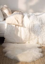 how to rock a faux fur rug in your home interiors decorating