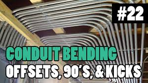 Electrician U Episode 22 How To Bend Pipe Conduit