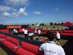 Inflatable Table Inflatable Human Table Football Game Hire London Kent