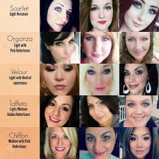 Mineral Touch Foundation Color Chart Pin On Younique Make Up