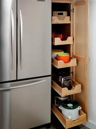 Storage For Kitchen Cupboards Pantry Cabinets And Cupboards Organization Ideas And Options Hgtv