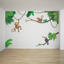 Small Picture jungle monkey childrens wall sticker set by oakdene designs