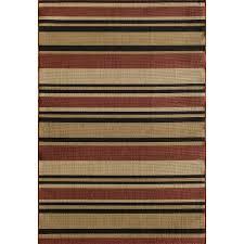 rug 6x9 indoor outdoor rug new somette triry allison stripe red indoor outdoor rug 6