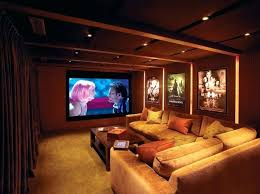 Home Theater Interiors Decoration