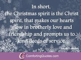 Short Christian Christmas Quotes Best of Quote Of David Mckay On Christmas Christmas Quotes And Sayings