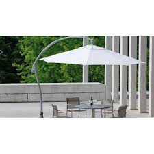 polyester terrace patio umbrella size
