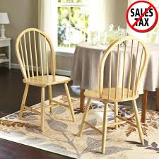windsor chair set of 2 solid wood dining room furniture kitchen chairs natural windsor kitchen chairs