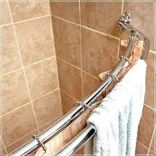 no drill curved shower rod curved shower rod no drilling curved no drill shower curtain tension