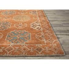 orange and grey rugs burnt area rug s