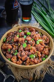 gobi manchurian recipe served in a bowl