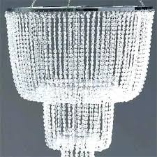 black beaded chandelier crystal beads acrylic wooden lamp shades