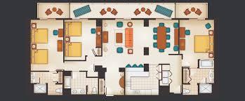 Three Bedroom Grand Villa Aulani Hawaii Resort Spa 3 Bedroom Condos Disney World