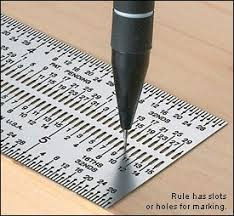 53 best Quilting tools images on Pinterest | Quilt block patterns ... & Incra® Marking Rules - Lee Valley Tools:Designed to eliminate parallax  errors and used with standard lead mechanical pencils, these rules are  perforated ... Adamdwight.com