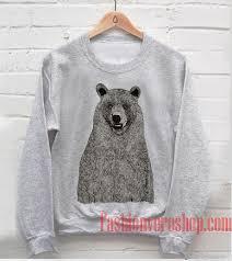 Supremebeing Mont Bear Sweatshirt