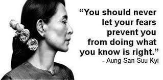 aung san suu kyi sjsu woms women of color aung san suu kyi was a powerful inspiration because of her non violent ways she stayed calm and collected and her will power boost the morale of her