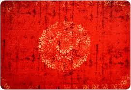 Deco-mat Orient Red Doormat & Reviews   Wayfair.co.uk