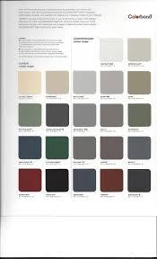 Colorbond Colour Chart Exterior House Colors Colorbond