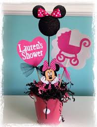 beautiful decoration minnie mouse baby shower decorations unusual ideas centerpieces images google search