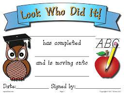 free preschool certificates preschool graduation diploma free printable free printable
