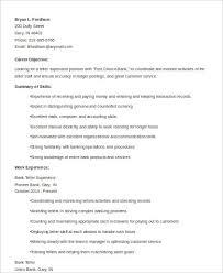 Teller Supervisor Resume
