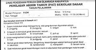 We did not find results for: Soal Ulangan Pjok Kelas 5 Semester 2 Kurikulum 2013 Sekolahdasar Net