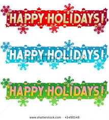 happy holidays clip art banner. Fine Happy Happy Holidays Clip Art Banner Stock Intended Happy Holidays Clip Art Banner I