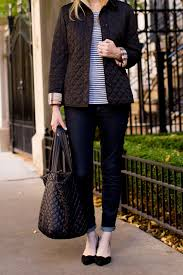 The Classic Burberry Jacket - Kelly in the City & Burberry Ashurst Quilted Jacket Black-53 Adamdwight.com