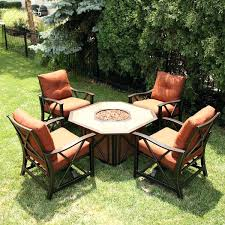 fire pit and chairs casual patio furniture fire pit set