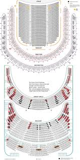 Academy Of Music Seating Chart Balcony Carnegie Hall Detailed Seating Chart Review Tickpick