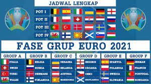 Hasil Drawing dan Jadwal Lengkap Fase Grup EURO 2021 - YouTube