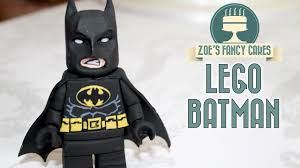 Lego Batman Cake Topper Fondant Figure Lego Movie Youtube