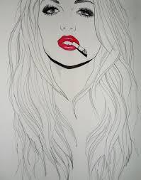 วอลเปเปอร ใบหนา ภาพวาด แนวตง ผมยาว ผมสดำ จมก