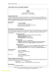 Resume Examples For Restaurant Jobs Updated Easy Resume Samples New