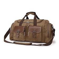 new canvas leather men travel bags carry on luggage bags men women duffel bags handbag travel
