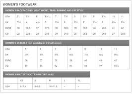 North Face Shoe Size Chart Rare The North Face Womens Size Chart North Face Size Chart