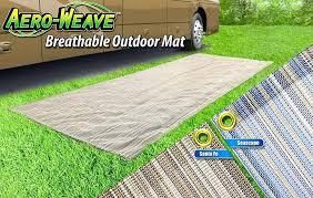 outdoor camper rug presto fit weave outdoor patio mat happy camper outdoor rug