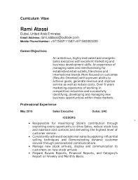 Phone Number On Resume Ramis Resume