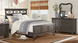 seaside bedroom furniture. cindy crawford home seaside gray 5 pc queen panel bedroom sets colors furniture