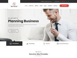 business services template biztrox multipage bootstrap business template themefisher