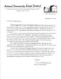 Sample Letter Of Recommendation For A Teacher Position Letter Of Recommendation For Teacher Save Sample Letter Re Mendation