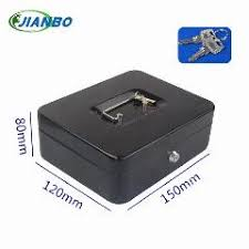 150A Portable Mini Iron Mini-Safe Box Cash Register Domestic Steel Safe